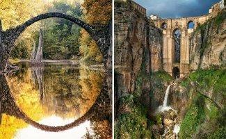 10 сказочно красивых арочных мостов мира, которые захочется увидеть вживую (19фото+9видео)