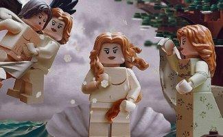 Шедевры искусства, собраннные из LEGO (39фото)