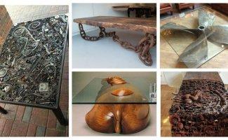 Необычные столы-мечта, от которых вы точно будете в восторге (26фото)