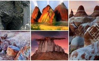 20 настолько фантастических пейзажей, что вы не поверите в то, что они есть на Земле (40фото)