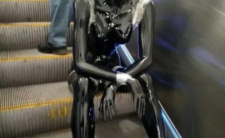 Чудики в метро (30фото)