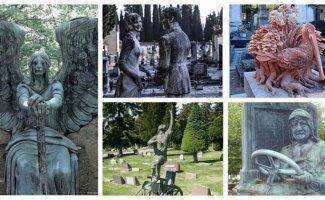 25+ невероятных надгробий: высший уровень кладбищенского искусства (30фото)