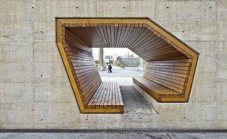 18 креативных скамеек со всего света, от которых приятно не только пятым точкам, но и глазам (18фото)