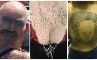 19 абсолютно упоротых татуировок, за которые горе-мастерам пора оторвать руки (20фото)