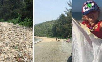 Первый полезный за все время флешмоб: люди всего мира делятся фотографиями собранного мусора (21фото)