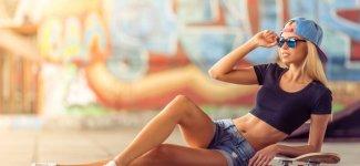 Лето. Шорты. Девушки (18фото)