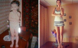 Люди делятся своими детскими фото и сравнивают, как они выглядели тогда и сейчас (15фото)