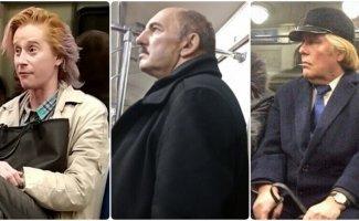 Звезды не ездят в метро? Вранье! (15фото)