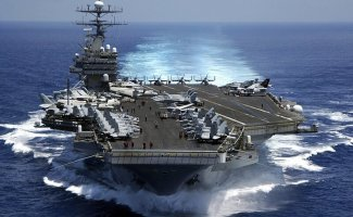 Авианосцы США (44фото)