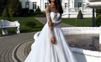 Свадебные платья, которые превратят невесту в принцессу (20фото)