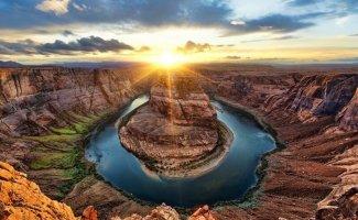 Восходящее солнце на фотографиях (13фото)