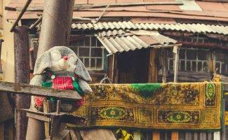 Игрушки: уличная жизнь после смерти (40фото)