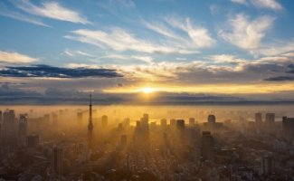Роскошные панорамы Токио (13фото)