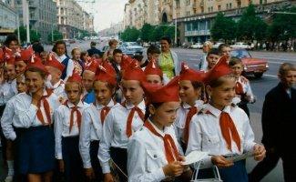 Пионеры в Советском Союзе (20фото)